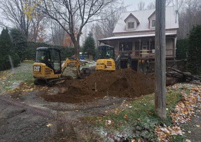 Entreprise de terrassement extérieur et nivellement de terrain à Saint-Charles-Borromée et dans Lanaudière - Services P.B.T (Excavation dans Lanaudière)