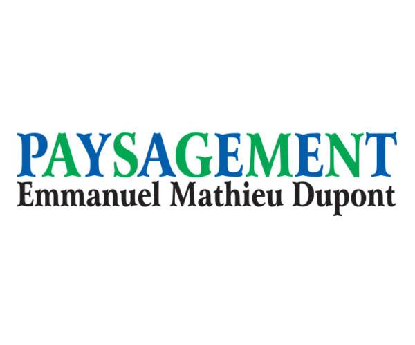 Logo de Paysagement Emmanuel Dupont - Services P.B.T (Excavation dans Lanaudière)