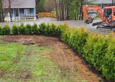 Entreprise de terrassement extérieur - Service P.B.T (Excavation dans Lanaudière)